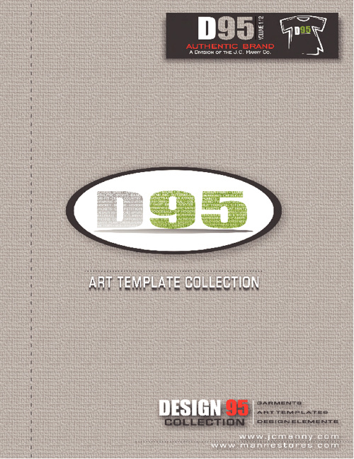 D95 Art Template Collection