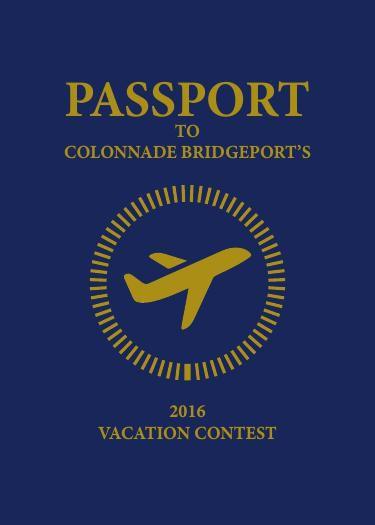 Colonnade BridgePort Realty's Vacation Contest - Digital Passpor