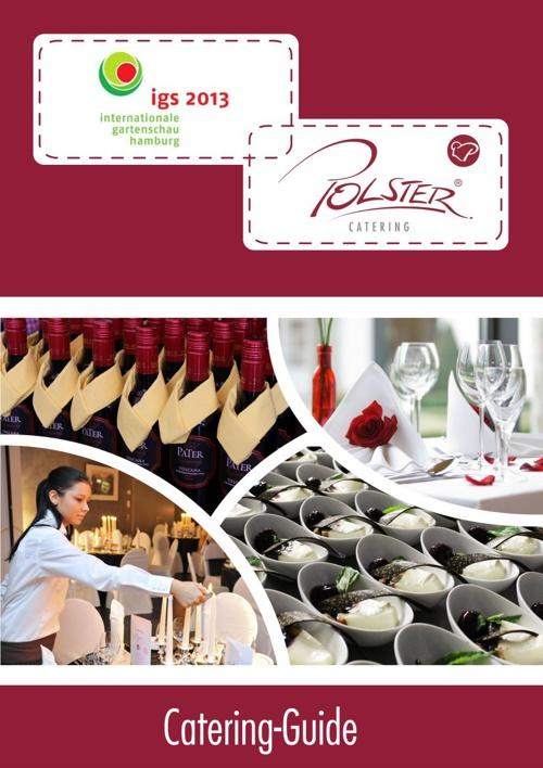 Catering Guide igs Hamburg 2013