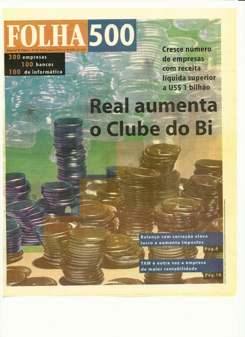 Publicações e Divulgações na Mídia Roberto Vilela