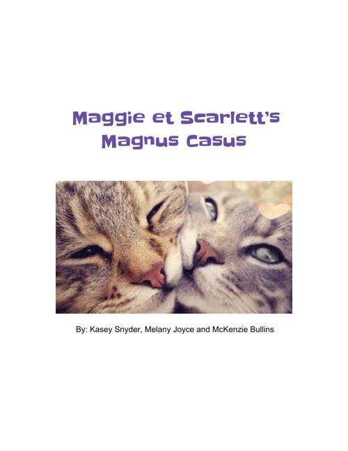 Maggie et Scarlett's Magnus Casus