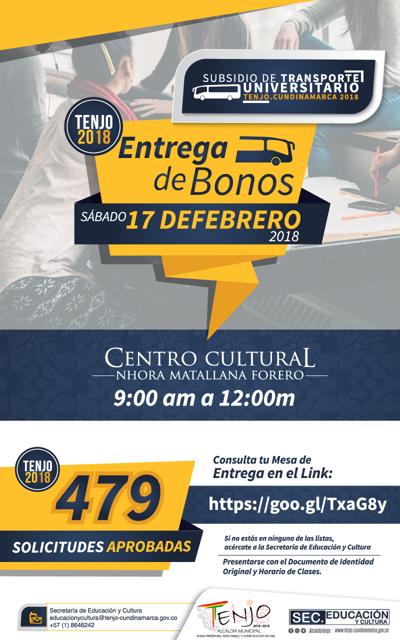 SUBSIDIO TRANSPORTE 2018-1