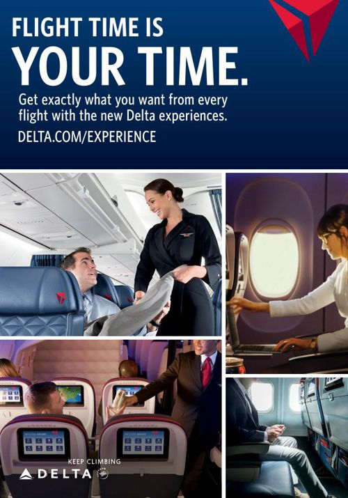 Delta Air Lines Domestic Classes of Service