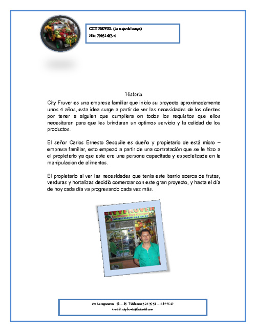 322976 Marco Filosofico City Fruver