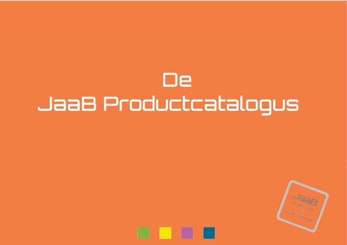 JAAB PRODUCTCATALOGUS oktober 2014