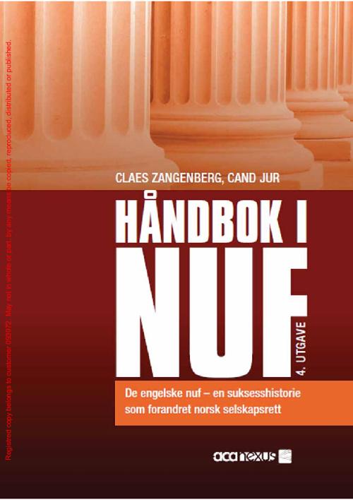 Panlegis - NUF - Handbook