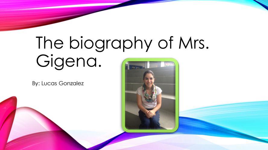 Lucas González - Ms. Gigena