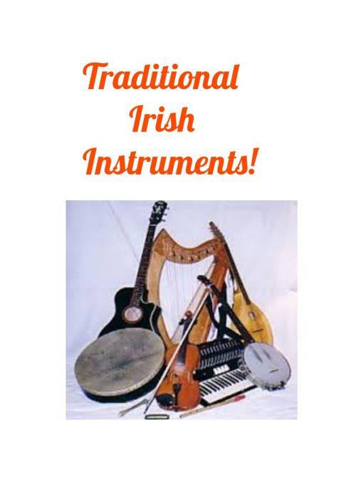 Traditional Irish Instruments!