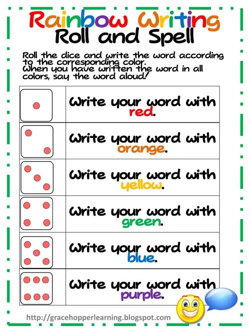 Copy of Copy of Spelling Activities
