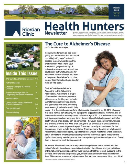 Health Hunters-March '15