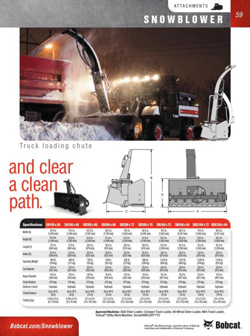Bobcat Attachment Catalog Part 5