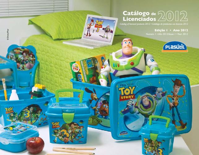 Catálogo Disney 2012