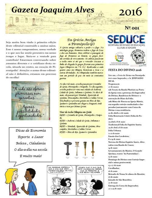 Publicação Joaquim Alves Pirenopolis