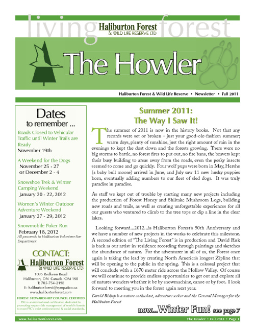 The Howler - Fall 2011