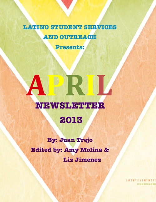 April's Newsletter