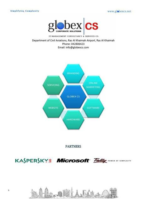 Globex CS Company Profile Technology