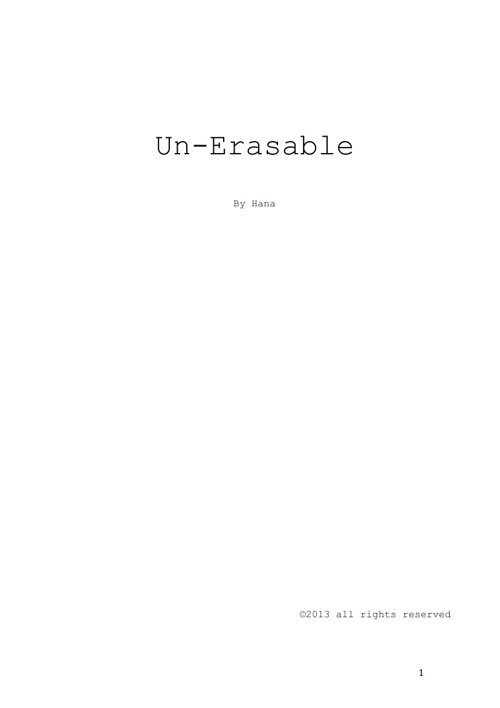 Un-Eraseable