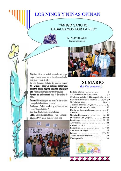 Periódico Nª 2 de 3º C curso 2.004/05