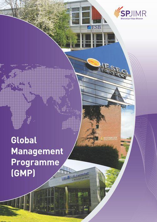 Global Management Programme Brochure