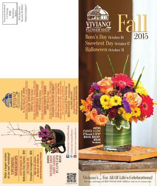 Viviano Flower Shop Fall Catalog 2015