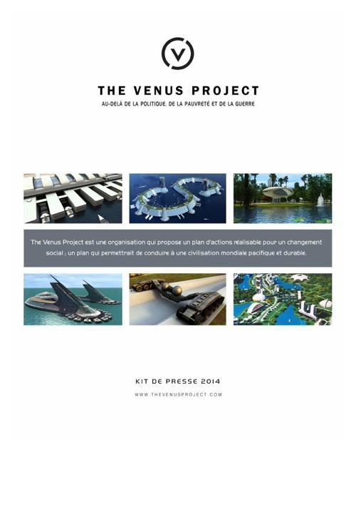Kit de presse 2014 The Venus Project