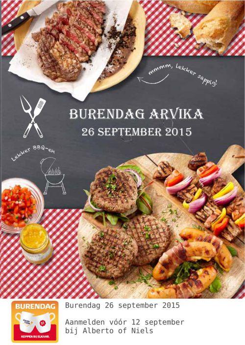 Uitnodiging VVE Arvika Burendag 2015