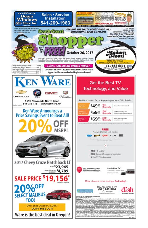 South Coast Shopper e-Edition 10-26-17