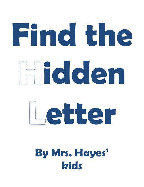 MD Hayes hidden letter book 2012-2013