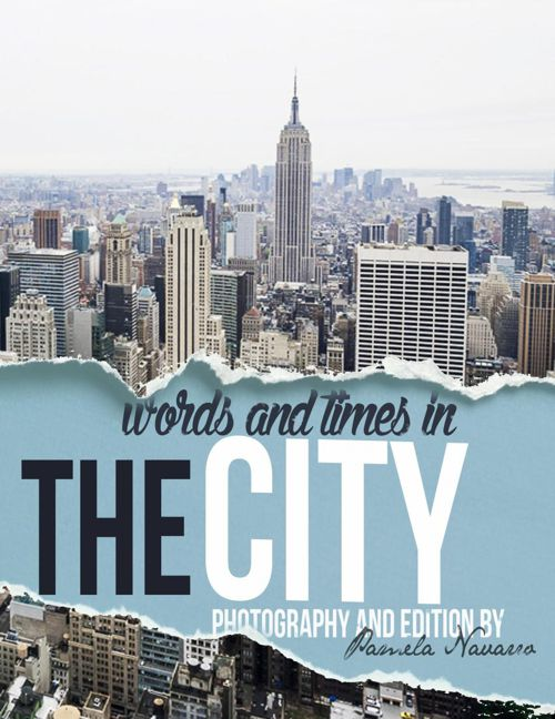 Words and Times in THE CITY