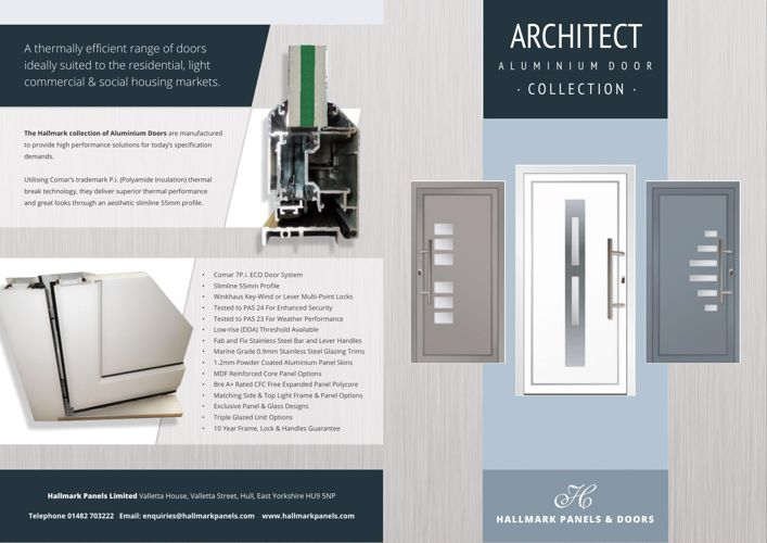 Hallmark Aluminium Door Brochure