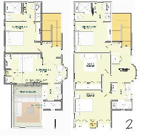 Cambridge Cottage Plan