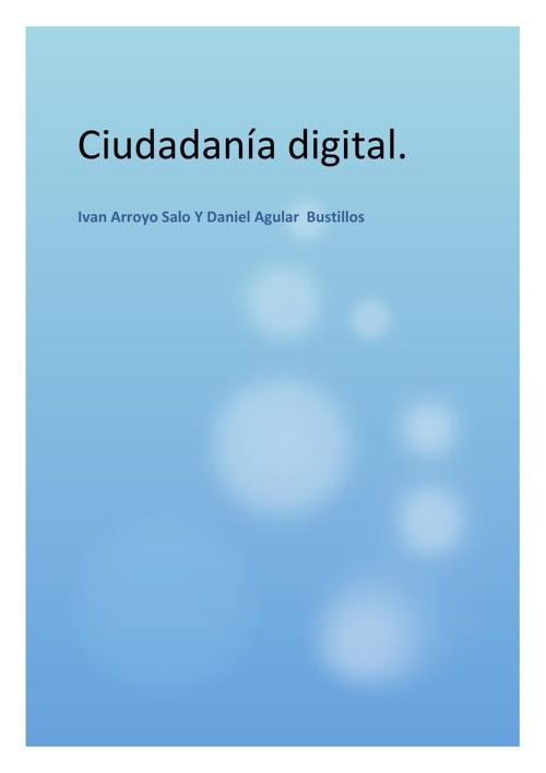 Proyecto de ciudadania digital Ivan Arroyo y Daniel Agullar