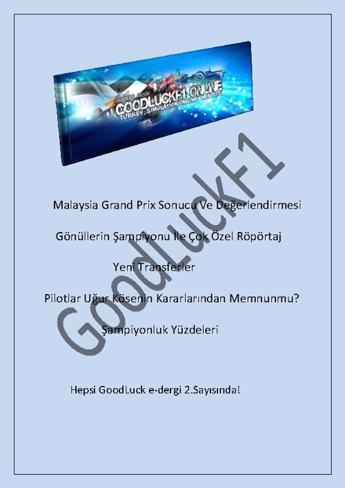 GoodLuck E-DERGİ Sayı 2