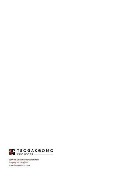 Tsogakgomo Business Profile
