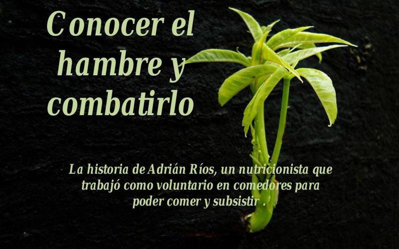 CONOCER EL HAMBRE Y COMBATIRLO