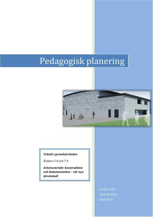 Teknik - konstruktioner och dokumentation