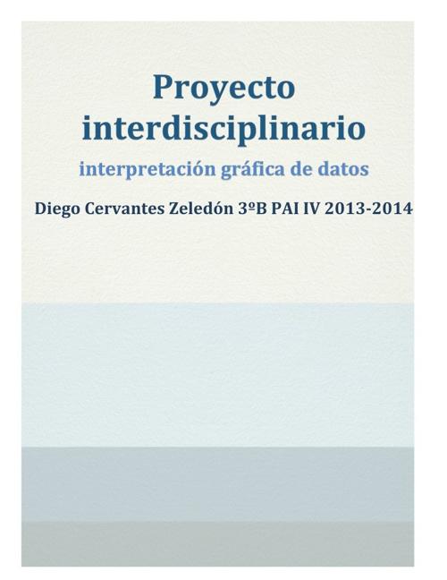 Interdesiplinario Diego Cervantes Zeledón