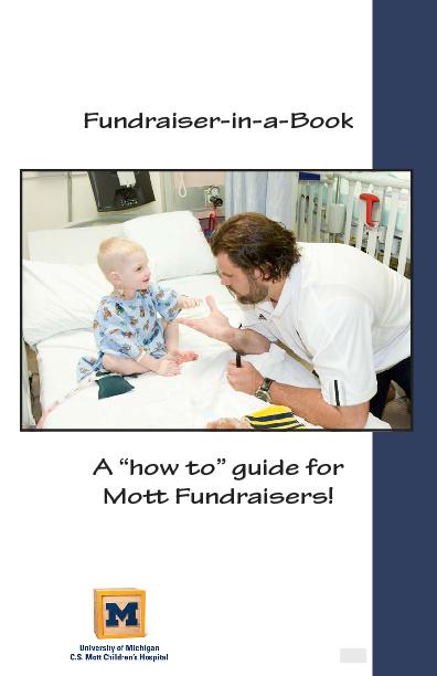 Fundraiser in a Book