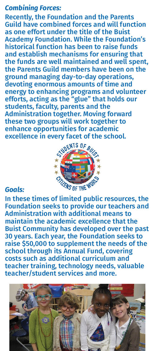 Buist Academy Foundation-Parents Guild Annual Fund