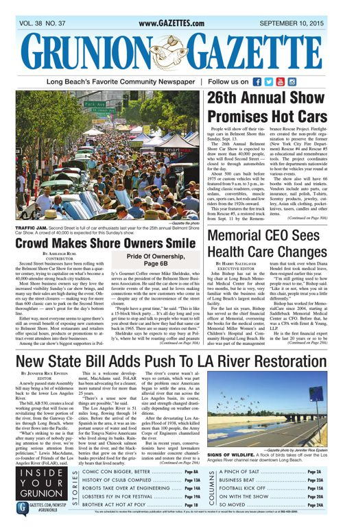 Grunion Gazette | September 10, 2015