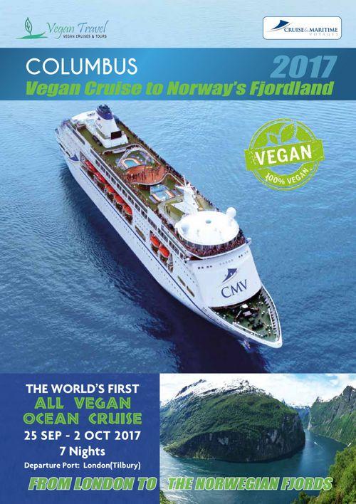 Columbus Vegan By FFAAAFD Flipsnack - Cruise ship brochure
