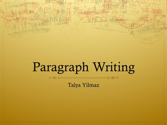 paragraph writing spre