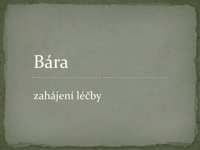 Bára II