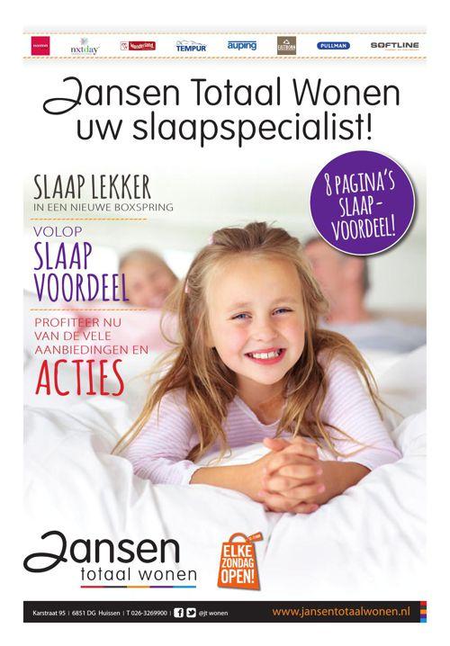 201507 Slaapkrant Jansen Totaal Wonen