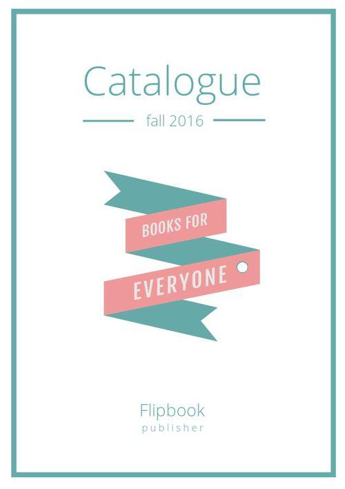 Design moderne de catalogue de livres