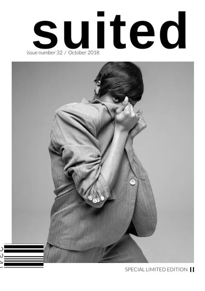 Black & White Fashion Magazine Design