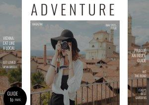 Travel Brochure Cover Design