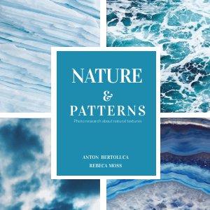 Blue and White Book Cover Design