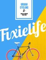 Colorful Retro Bike Book Cover