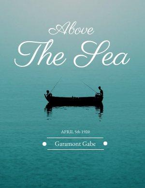 Sea Book Cover Design